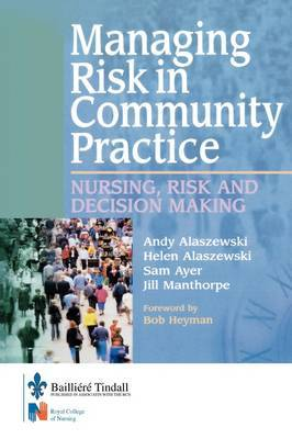 Managing Risk in Community Practice by Andy Alaszewski image