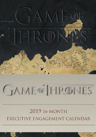 Game of Thrones 2019 16-Month Executive Engagement Calendar by HBO