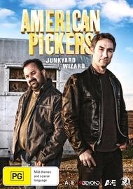 American Pickers: Junkyard Wizard on DVD