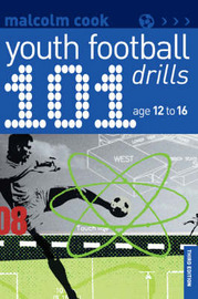 101 Youth Football Drills by Malcolm Cook image
