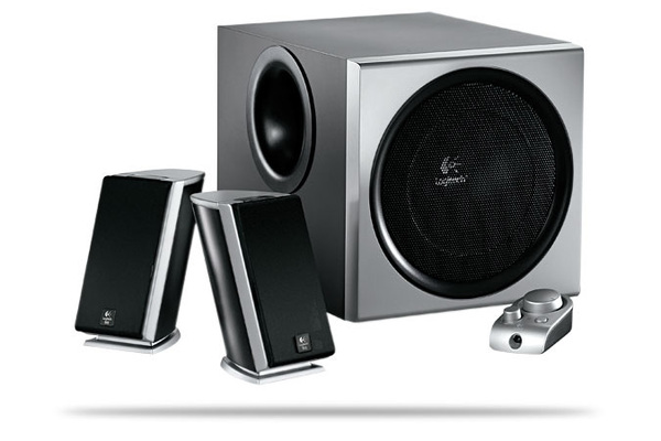 Logitech Z2300 2:1 THX Speaker System with Subwoofer image