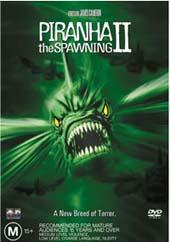 Piranha 2 - The Spawning on DVD