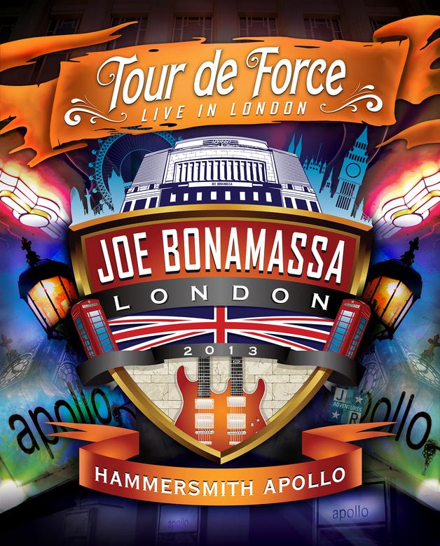 Joe Bonamassa Tour De Force: Live In London - Hammersmith Apollo - Rock N Roll Night on DVD