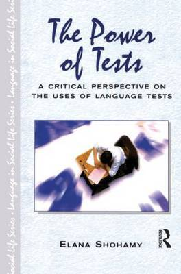 The Power of Tests by Elana Shohamy image