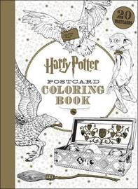 Harry Potter Postcard Coloring Book by Scholastic