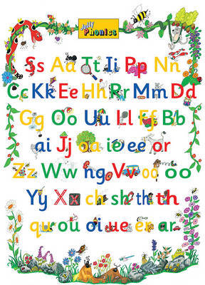 Jolly Phonics Letter Sound Poster by Sue Lloyd image