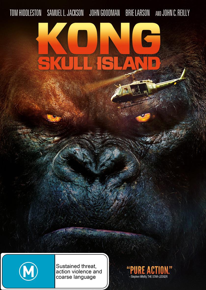 Kong: Skull Island on DVD image