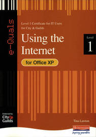e-Quals Level 1 Office XP Using the Internet by Tina Lawton image