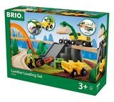 Brio: Lumber Loading - Railway Set