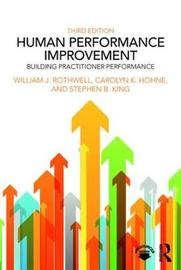 Human Performance Improvement by William J Rothwell