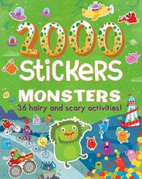 2000 Stickers Monsters by Parragon Books Ltd