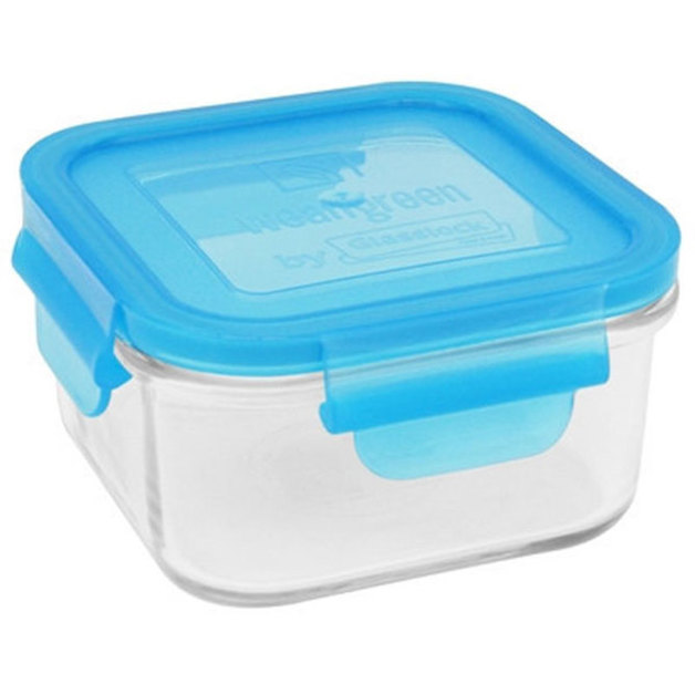 Glass Meal Cube - Blueberry (850ml)