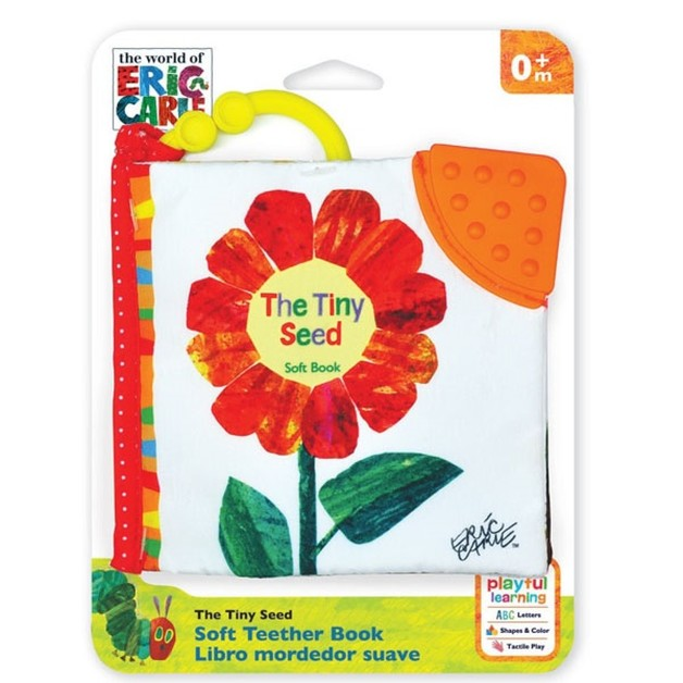 Eric Carle: Clip-On Soft Book - The Tiny Seed