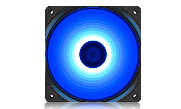 Deepcool RF120B 12CM High Brightness LED Case Fan - Blue