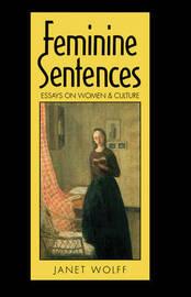 Feminine Sentences by Janet Wolff image