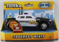 Tonka Emergency Police Car - Toughest Minis