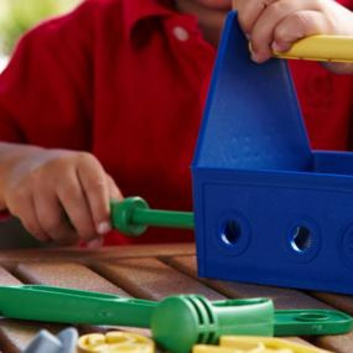 dba03499e3dd Green Toys Tool Set (Blue) Images at Mighty Ape NZ