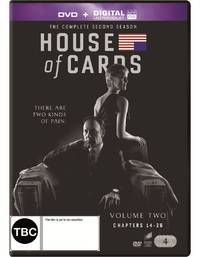 House of Cards - The Complete Second Season on DVD