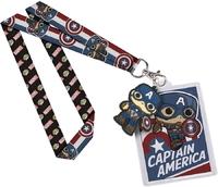 Marvel: Captain America - Pop! Lanyard