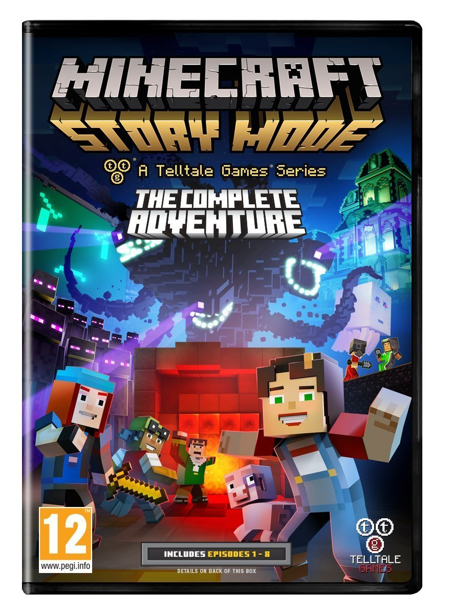 Purchase Minecraft Pc Game : Minecraft story mode the complete adventure pc game