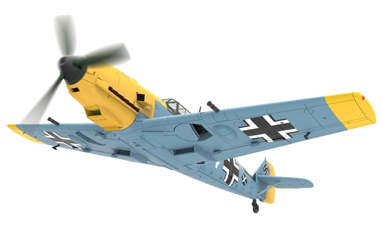 Corgi: 1/72 Bf.109E-4 Messerschmitt - Diecast Model image