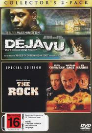Deja Vu / The Rock - Collector's 2-Pack (2 Disc Set) on DVD image