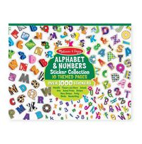 Melissa & Doug: Alphabet & Numbers Sticker Collection
