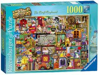 Ravensburger : The Collector's Cupboard Puz (1000 Pcs)