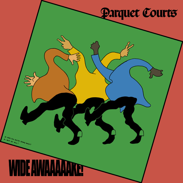 Image result for Parquet Courts - Wide Awake! (Rough Trade) $17.99 / $23.99 Dlx