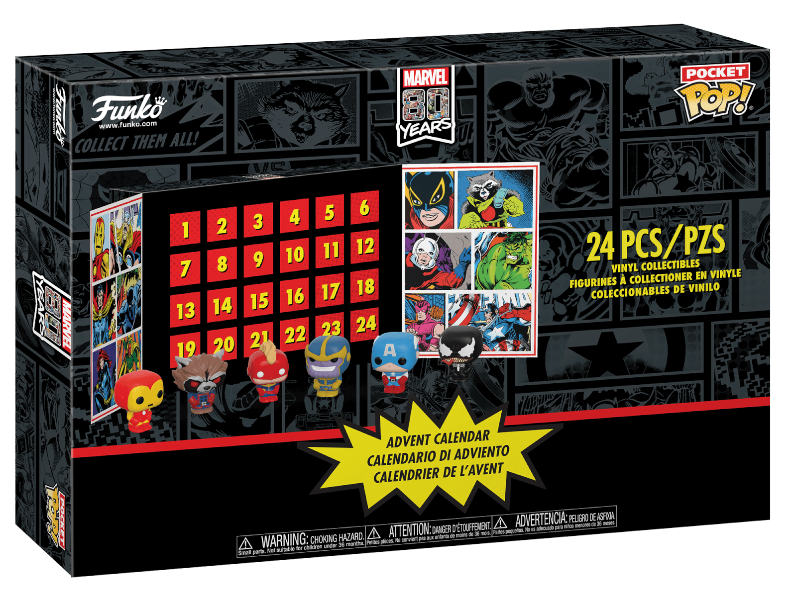 Marvel - Pocket Pop! Advent Calendar (2019) image