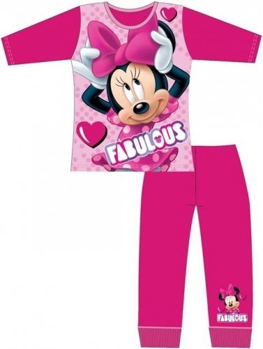 Disney: Minnie Mouse Girls Pyjama Set - Pink/9-10