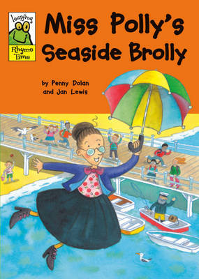 Miss Polly's Seaside Brolly by Penny Dolan image