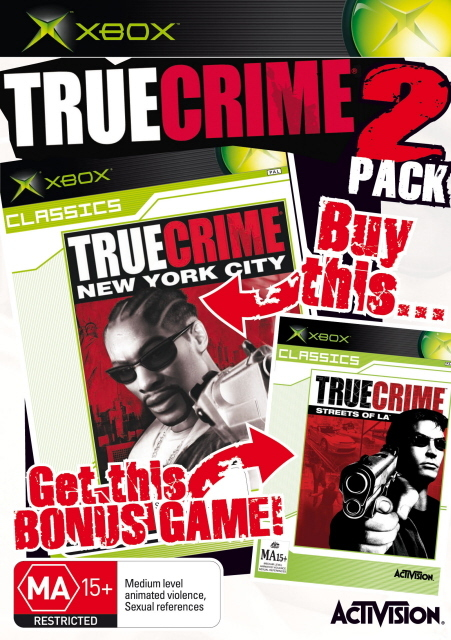 True Crime / True Crime 2 Double Pack for Xbox