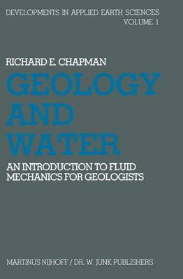 Geology and Water by Richard E. Chapman image