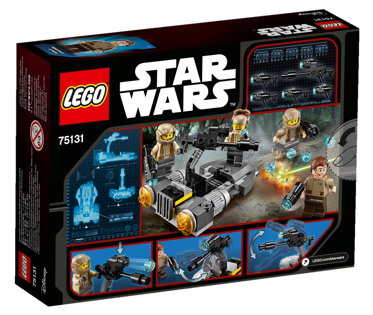 LEGO Star Wars - Resistance Battle Pack (75131) image