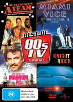 Best Of 80's TV, The (A-Team / Miami Vice / Knight Rider / Magnum P.I.) (4 Disc Set) on DVD