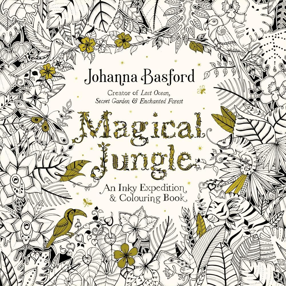 Magical Jungle By Johanna Basford Image