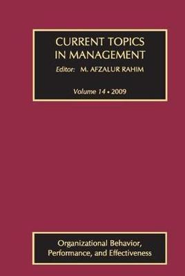 Current Topics in Management: v. 14