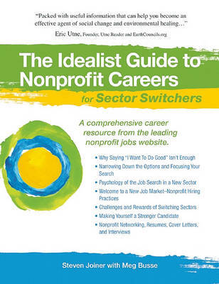 The Idealist Guide to Nonprofit Careers for Sector Switchers by Steven Joiner