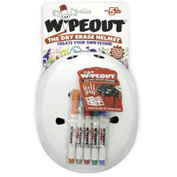 Wipeout Helmet - White