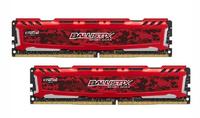 2x4GB Crucial Ballistix Sport LT Red DDR4 2400mhz