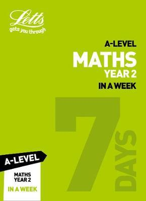 A -level Maths Year 2 In a Week by Collins image