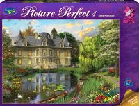 Holdson: Picture Perfect 1000pc Puzzle - Lake Mansion