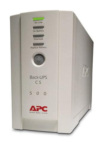 APC Back-UPS CS 500VA Tower USB/Serial image