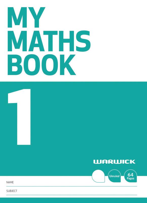 Warwick: My Maths Book 1 - Unruled