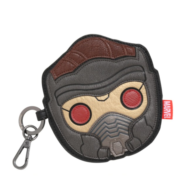 Loungefly: Starlord Face - Chibi Coin Bag