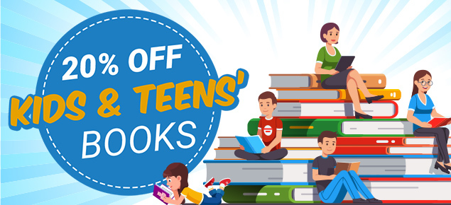 School Holiday Sale: 20% Off Kids & Teens Books