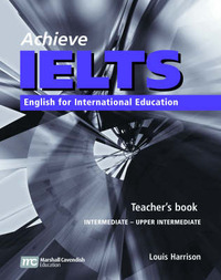 Achieve IELTS 1 Teacher Book - Intermediate to Upper Intermediate 1st ed by Louis Harrison image