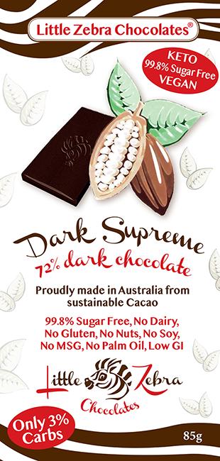 Little Zebra Chocolates: Dark Supreme