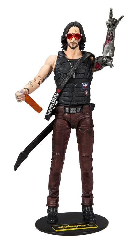 """Cyberpunk 2077: Johnny Silverhand - 7"""" Articulated Figure"""